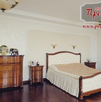 Текстильное наполнение спальни