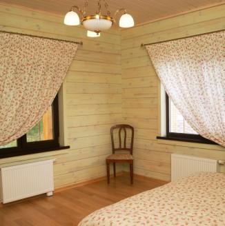 Шторы в стиле кантри для спальни