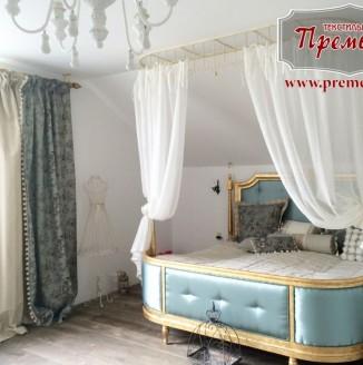 Спальня с элементами барокко
