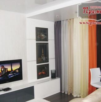 Дизайн Цветной гостиной