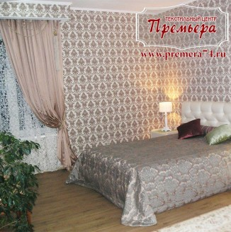 Шторы и текстиль для спальни