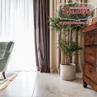 Оформление современной хай-тек гостиной
