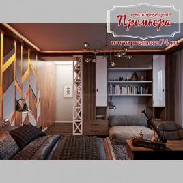 Элитная модерн спальня