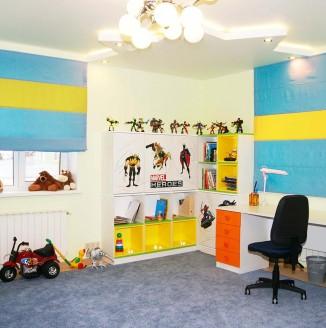 Яркие шторы в детскую комнату