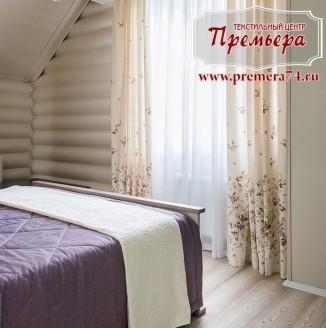 Текстильное оформление гостевой спальни