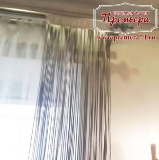 Серебрянная штора