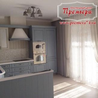 Плотные шторы для кухни