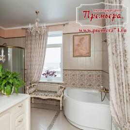 Ванная со шторами
