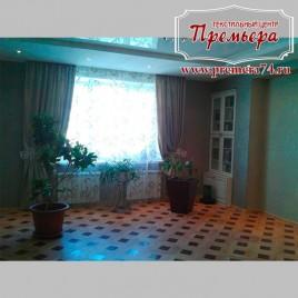 Классические шторы в просторный зал
