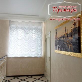 Занавески для лестничных площадок в классическом стиле