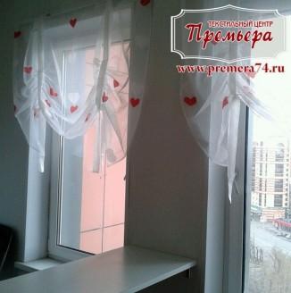 Декоративные тюлевые шторы