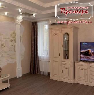 Прямые шторы в гостиную