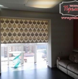 Межкомнатная штора для балкона