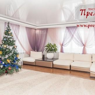 Легкие шторы для воздушной гостиной