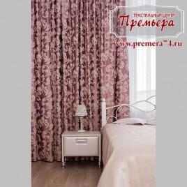 Роскошная розовая спальня