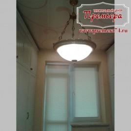 Рулонные шторы для дверного проема балкона