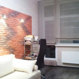 Оформление офиса шторами в современном стиле
