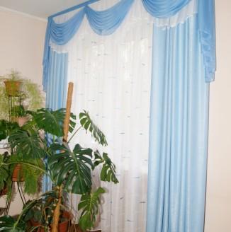 Классические шторы в холл