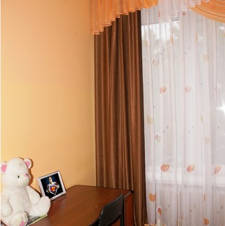 Оформление спальни детского дома №14