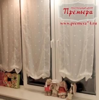 Австрийские шторы для детской