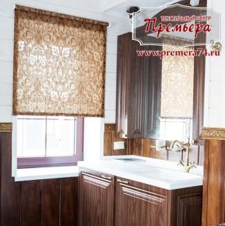 Ролл штора для ванной комнаты
