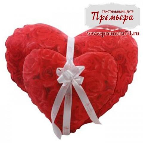 Сувенирная подушка Сердечко 30х30