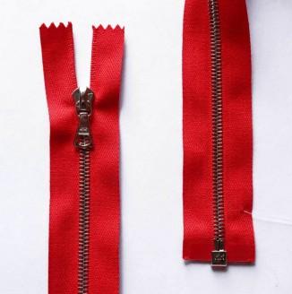 3451215/90 Молния ME4 TB NI Flach P12  (2407-красный)
