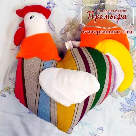 Сувернирная подушка Петя-Петушок