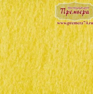 Фетр листовой 1мм, 643 лимонный, 100%п/э