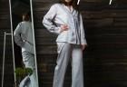 Домашний костюм с брюками L/XL Жемчуг