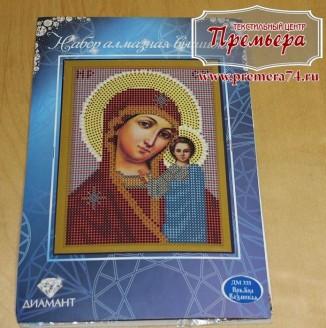 Икона из страз Пресвятая Богородица Казанская ДМ-319