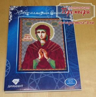 Икона из страз Пресвятая Богородица Семистрельная, ДМ-414