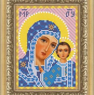 Икона из страз Пресвятая Богородица Казанская ДМ-320