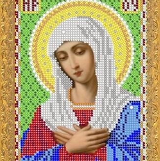 Икона из страз Пресвятая Богородица Умиление, ДМ-334