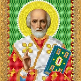 Икона из страз Св.Николай Угодник ДМ-324