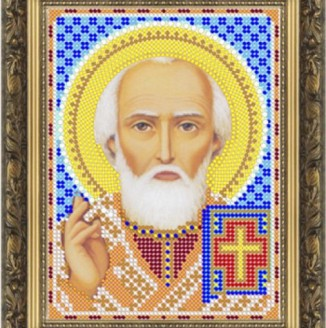 Икона из страз Св. Николай Угодник ДМ-361