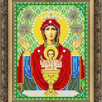 Икона из бисера Св.Богородица Неупиваемая Чаша ДМ-385