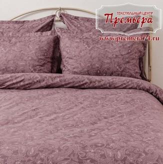 КПБ 1.5х Розовый закат (Paisley)