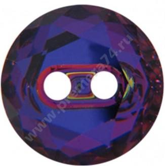 3014 ММ 14 Кристальная пуговица Swarovski