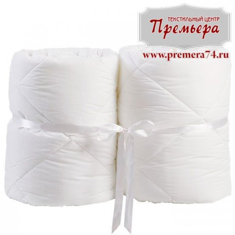 Одеяло из отбеленной бязи 1х Зимнее