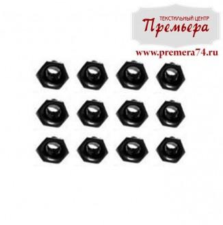 Блочки Шестиугольные черный