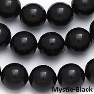 5810 ММ 3 Кристальные бусины   (Crystal Mystic Black Pearl)