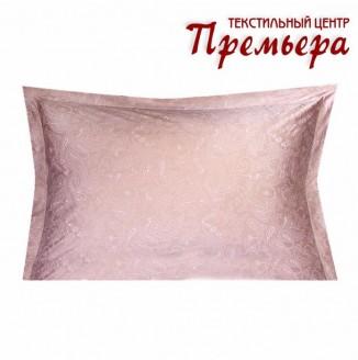 Наволочка 50х70 Жемчужно-розовый (Paisley)