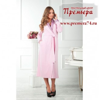 Халат женский LUIZA [бамбук] (розовый, L/XL)