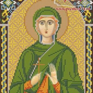 Икона из бисера Св.Вмч.Антонина