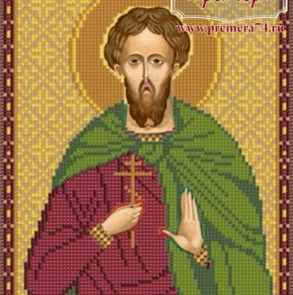 Икона из бисера Св.Вмч.Артемий