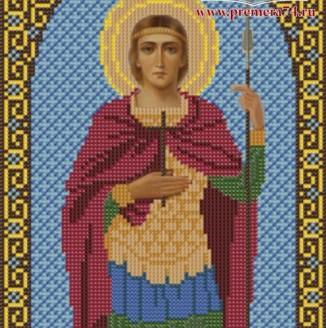 Икона из бисера Св.Вмч.Георгий Победоносец