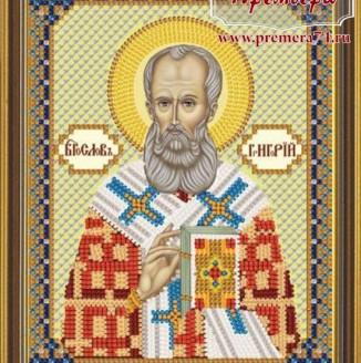 Икона из бисера Св.Григорий Богослов