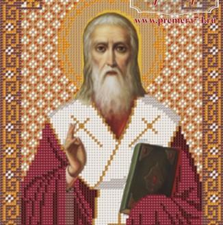 Икона из бисера Св.Дионисий