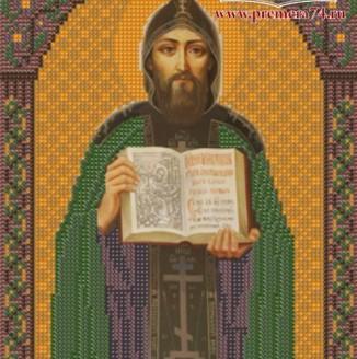 Икона из бисера Св.Кирилл